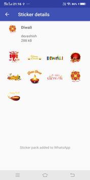 Diwali Wa Sticker Apps 2018 screenshot 1