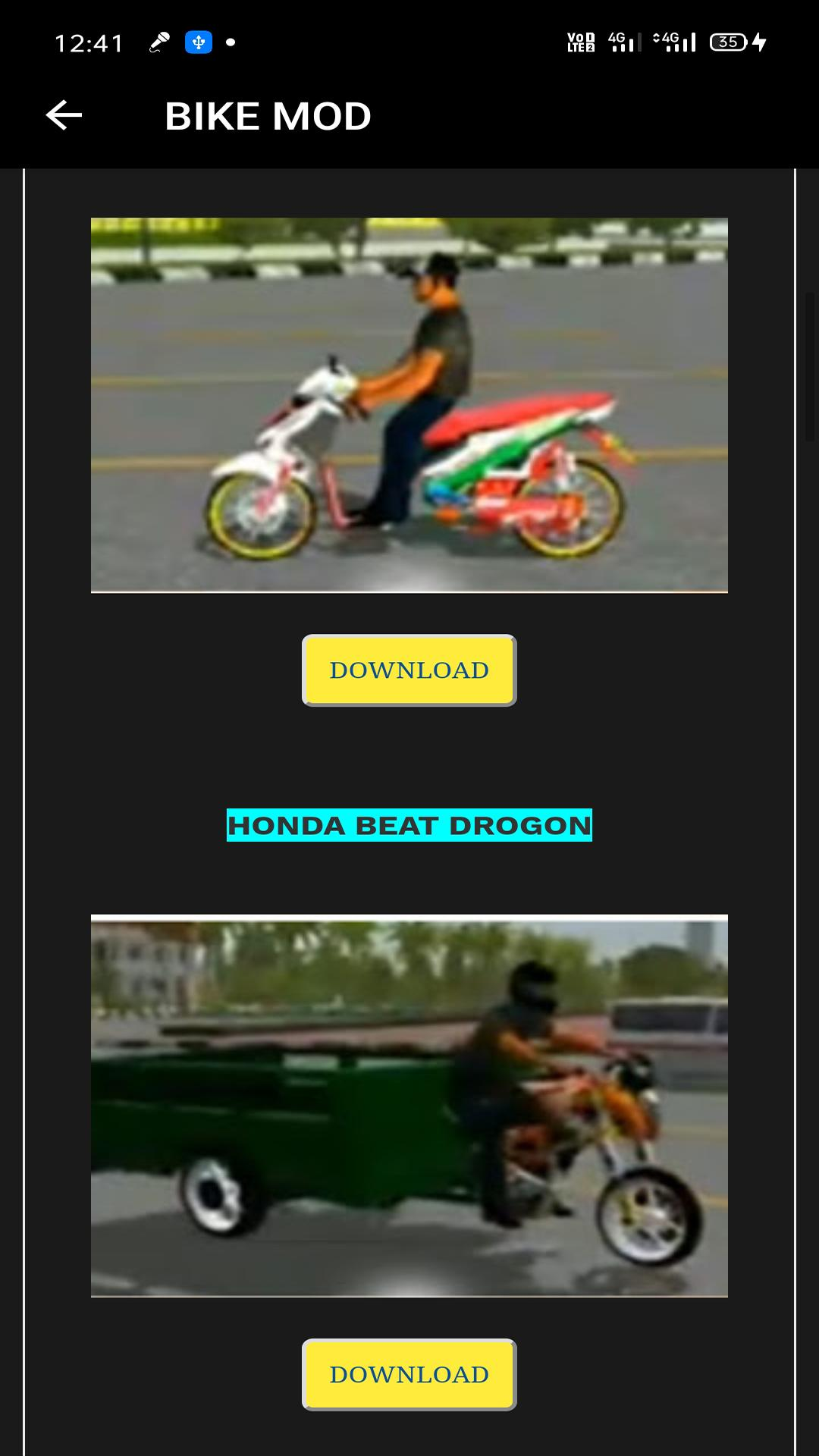 Bike Mod Bussid Indonesia Bus Simulator For Android Apk Download