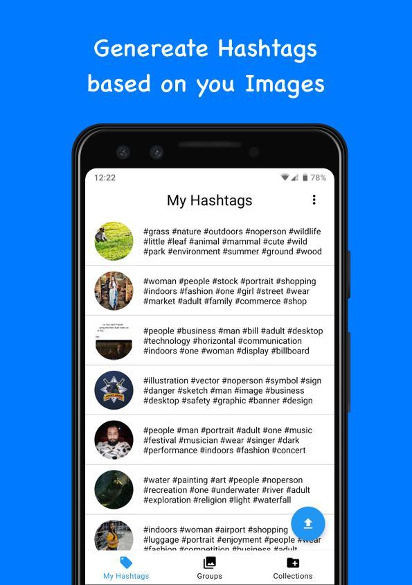 Znalezione obrazy dla zapytania aplikacje do instagrama hashtagger