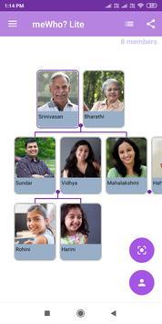 Family Tree Creator - meWho? Lite screenshot 1