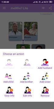 Family Tree Creator - meWho? Lite screenshot 3