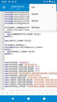 A File Explorer(File Manager & Text Editor) screenshot 4