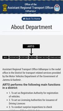 ARTO Udhampur Official App screenshot 2