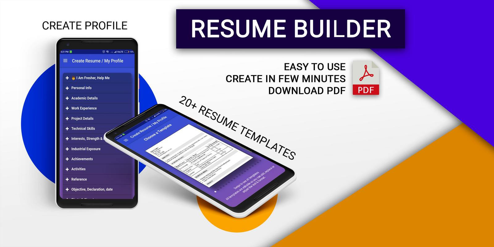 Resume Builder For Android Apk Download