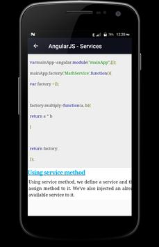 Learn - AngularJS screenshot 5