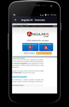 Learn - AngularJS screenshot 1