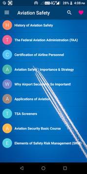 Aviation Safety poster