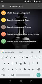 Strategic Management screenshot 6