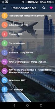 Transportation Management poster