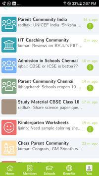 SchoolConnects imagem de tela 1