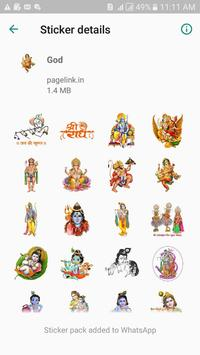 God  Stickers Pack For Whatsapp poster
