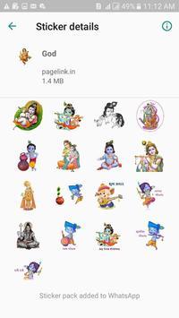 God  Stickers Pack For Whatsapp screenshot 1