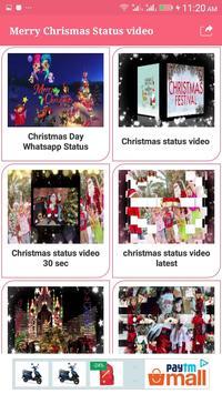 Merry Chrismas Status Video Songs 2019 screenshot 1