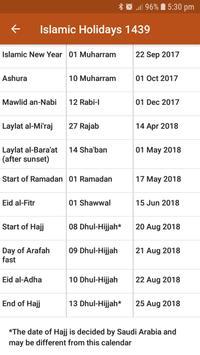ICOUK Hijri Calendar screenshot 4