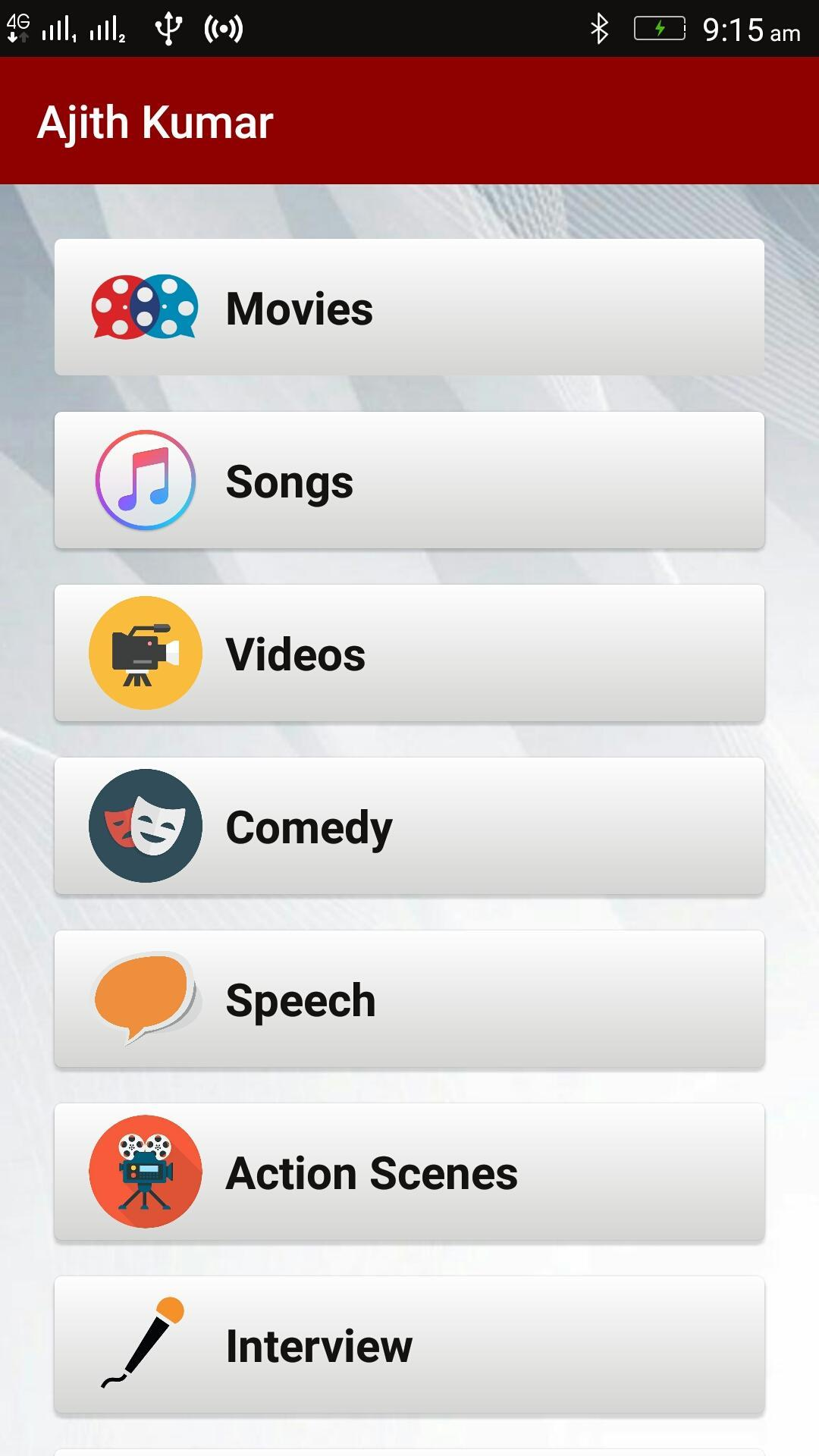 AJITH KUMAR-Movies,Songs,Videos for Android - APK Download