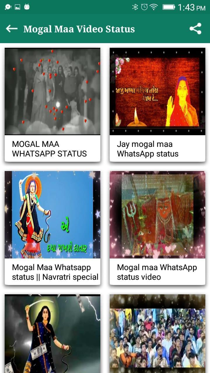 Jay Shri Mogal Maa Video Status App 2019 For Android Apk