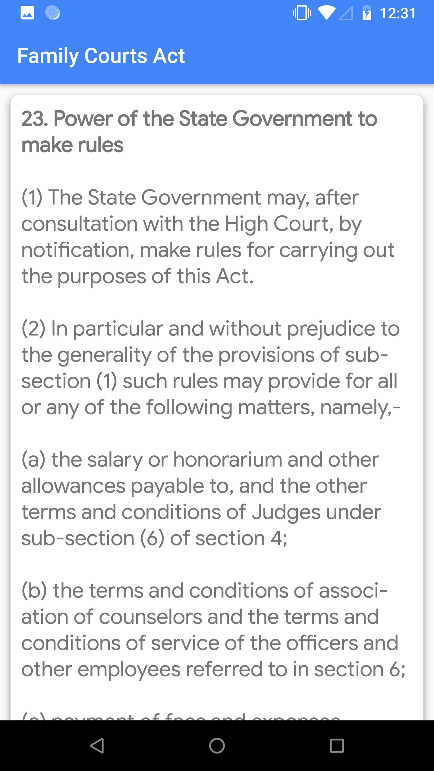 Family Courts Act for Android - APK Download