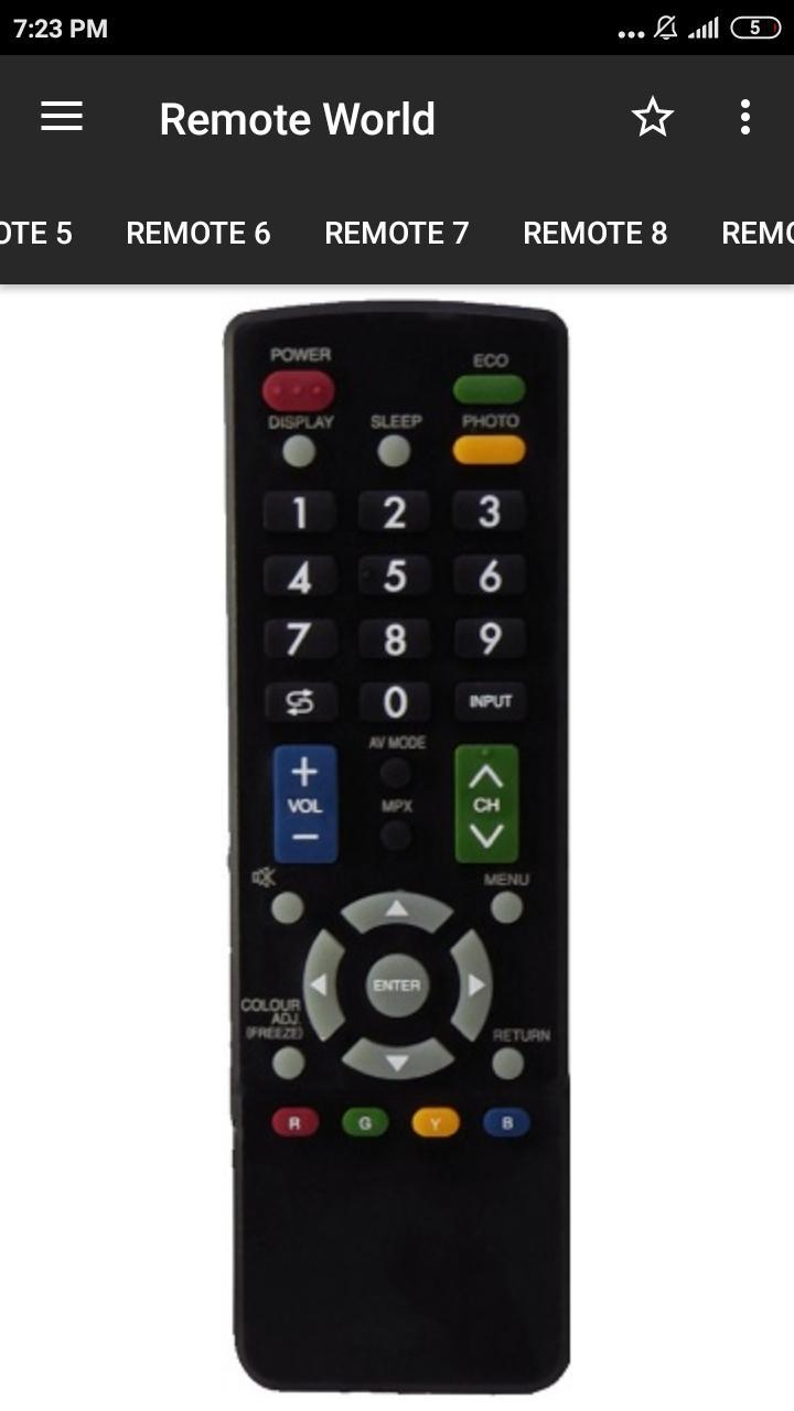 Sharp Tv Remote Control For Android Apk Download