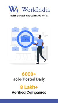 Job Search App - Free Direct HR Contact: WorkIndia poster