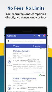 Job Search App - Free Direct HR Contact: WorkIndia screenshot 5