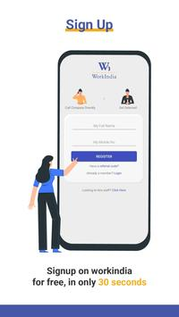 Job Search App - Free Direct HR Contact: WorkIndia screenshot 2