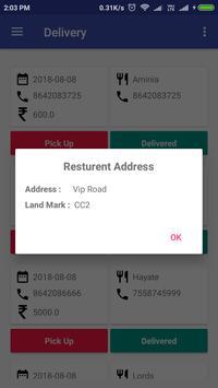 Dtodoor Delivery App screenshot 2