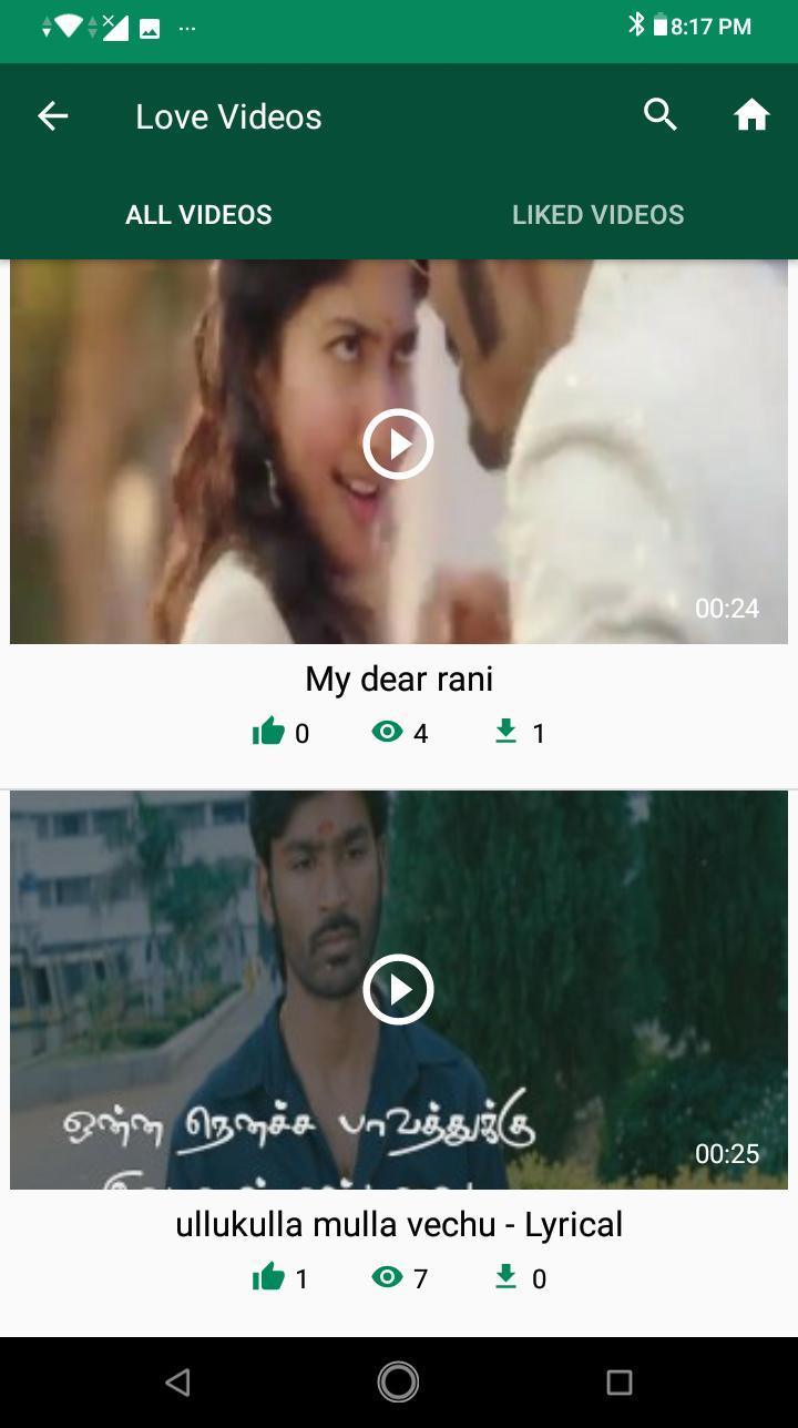 Tamil Status Videos for WhatsApp Status for Android - APK Download