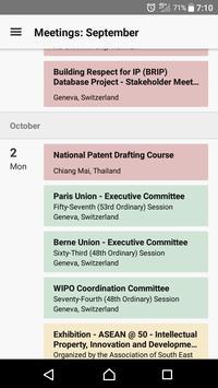 WIPO Delegate syot layar 1