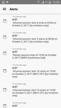 WIPO Delegate syot layar 2