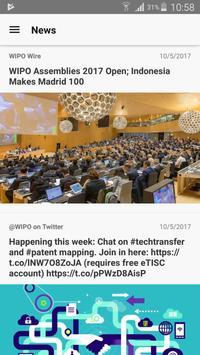 WIPO Delegate syot layar 3