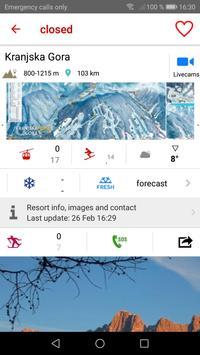iSKI Slovenija screenshot 2