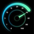 Internet Speed Test Original - wifi & 4g meter أيقونة