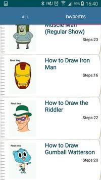 Drawing Cartoon Characters - Step By Step screenshot 3