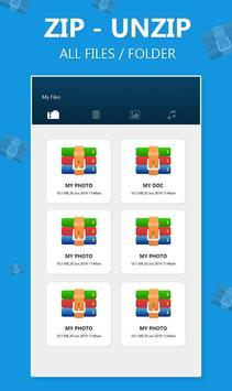 Zip & Unzip Files - Unzip Files App poster