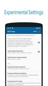 PGT Free 🔧: GFX & Optimizer تصوير الشاشة 3