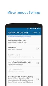 PUB Gfx Tool Free🔧 (NO BAN & NO LAG) スクリーンショット 2