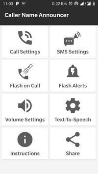 💯 Caller Name Announcer & Flash Alerts Call SMS screenshot 1