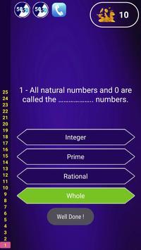 Kids Quiz Math screenshot 1