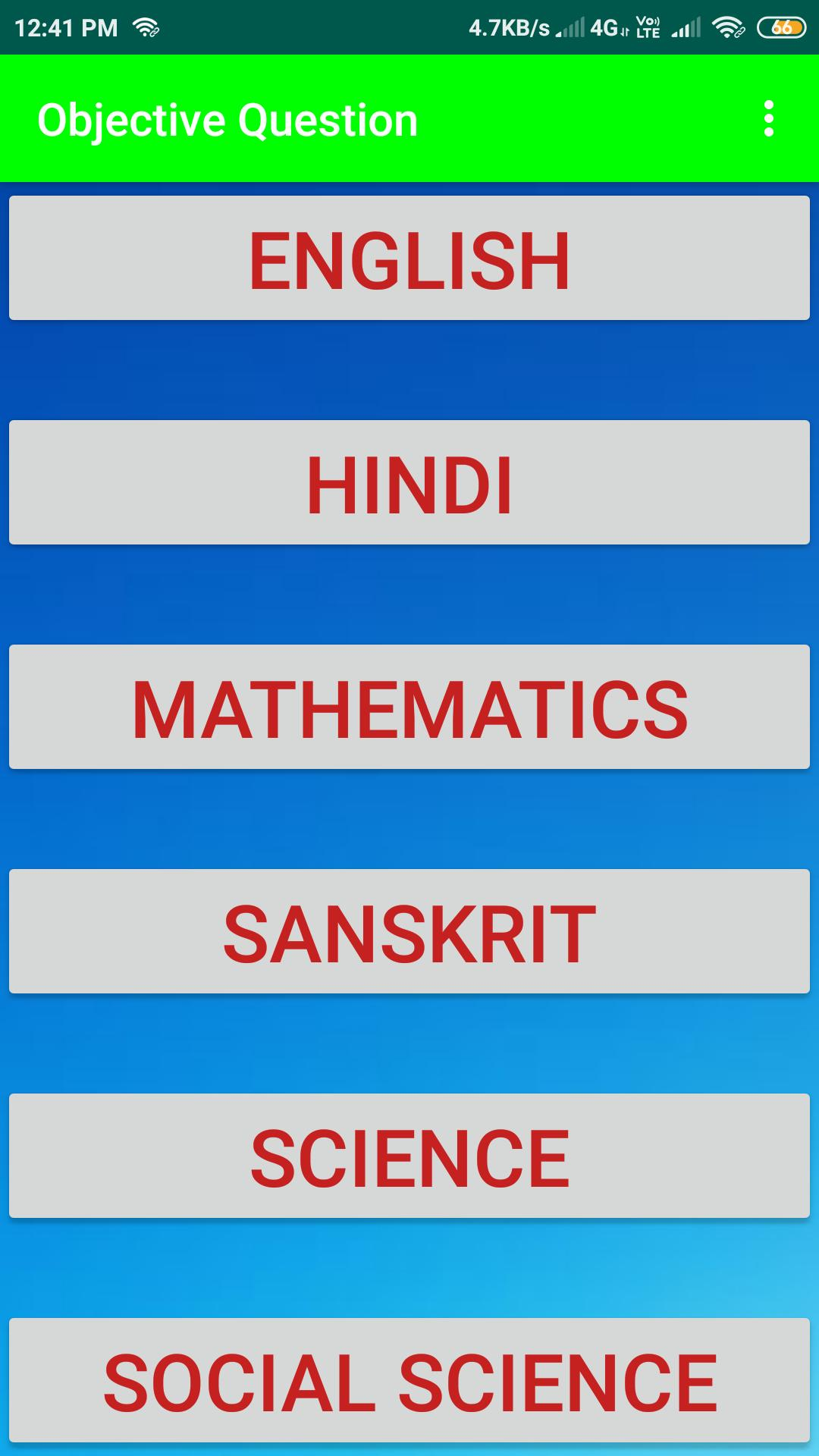 Class 10th 50% Objective Questions & Answers for Android - APK Download