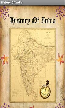 History of India poster