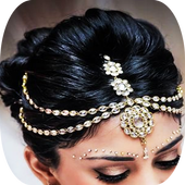 Indian Bridal Hairstyles icon