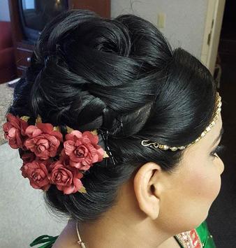 Indian Bridal Hairstyles screenshot 5