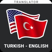 Instant English To Turkish Easy Translator icon