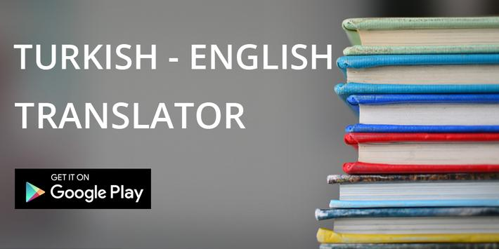 Instant English To Turkish Easy Translator poster