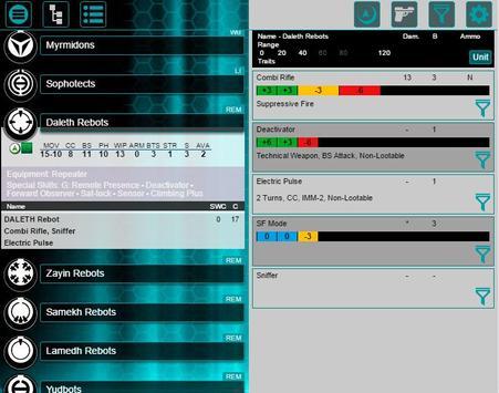 Infinity Army Mobile screenshot 7