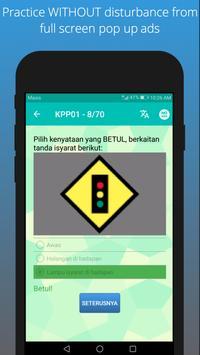 Ujian KPP 2019 (Motosikal/Kereta Sahaja/Kedua-dua) screenshot 2