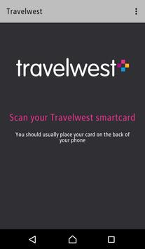 Travelwest travelcard checker poster