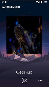 RANDOM MUSIC 89.5 MHZ poster