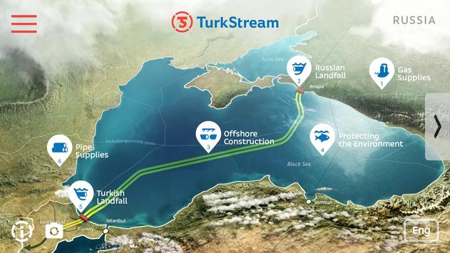 TurkStream Pipeline Project poster
