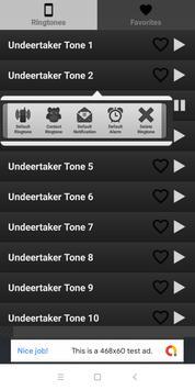 Undertaker ringtones free screenshot 1